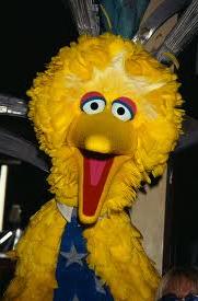 Big Bird. Mitt Romney.
