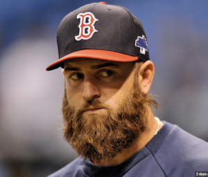 Napoli beard Red Sox